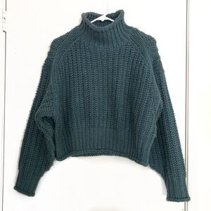 Thick Knit Crop Sweater